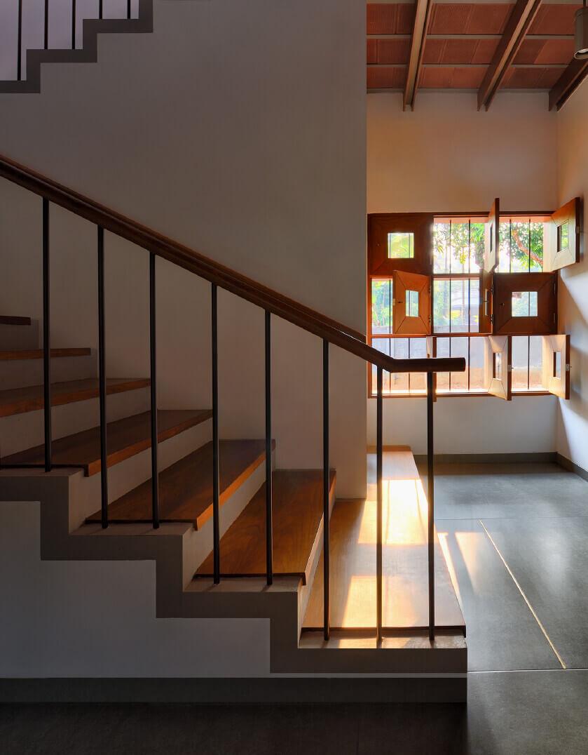 stair wall design