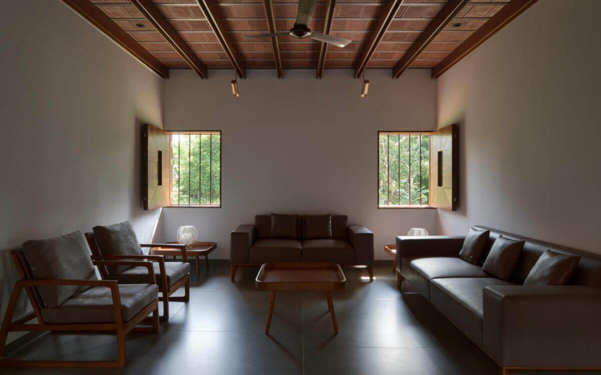 visiting area interior