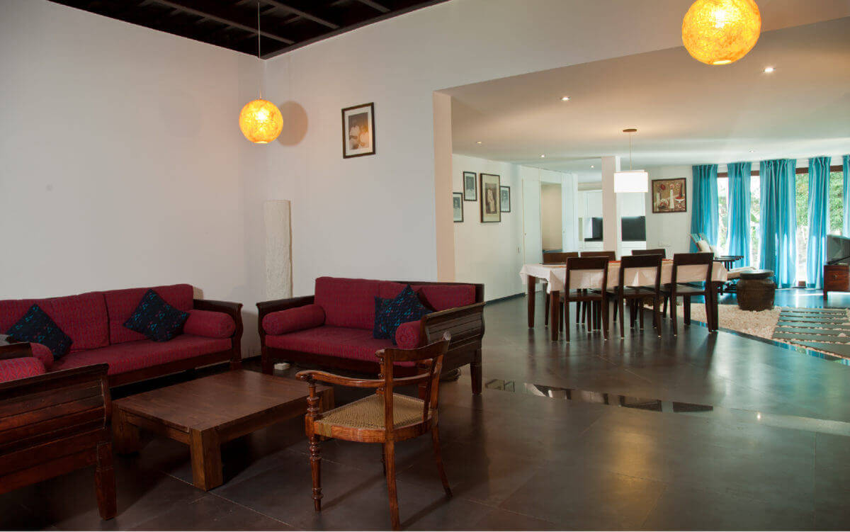 living & dinning interior