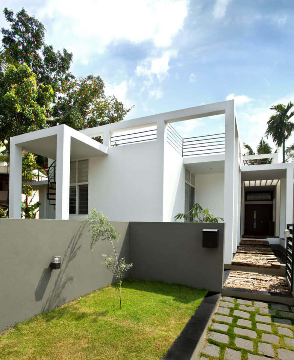 single storied intimate house